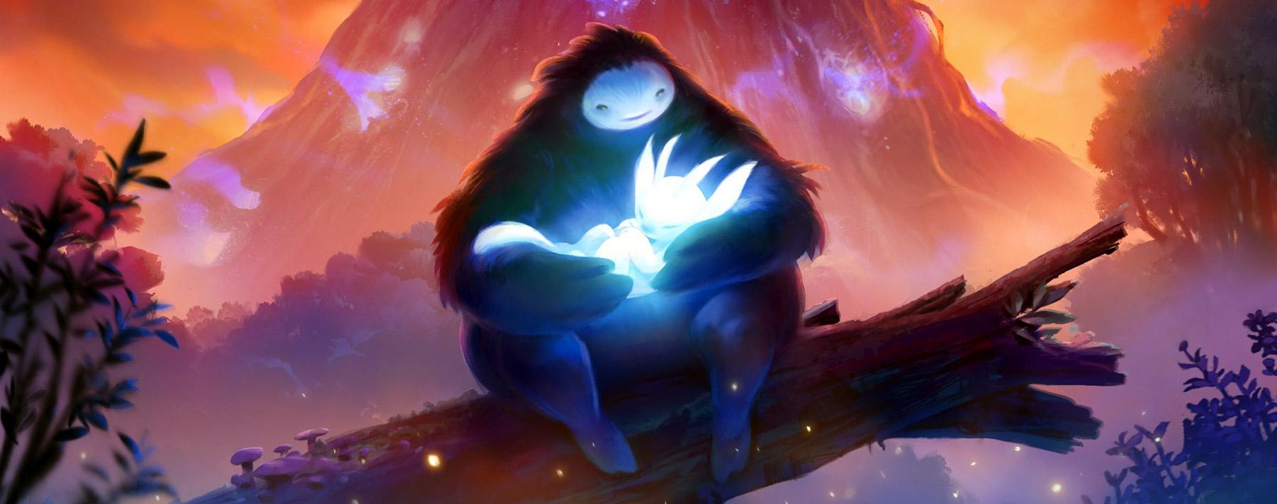 Ori and the Blind Forest. El juego que está situado en un bosque, como su nombre lo indica, se inspiró por El rey león y El gigante de hierro.