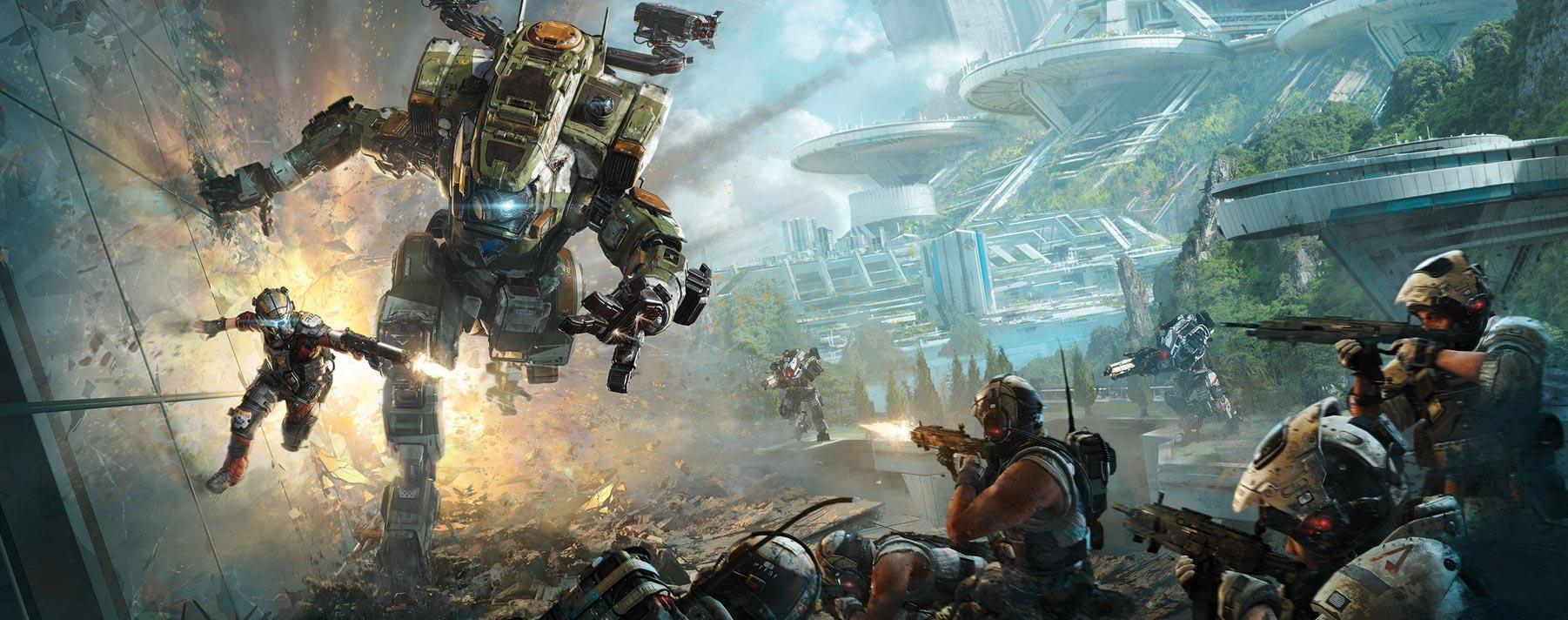 Titanfall. De género shooter en el que los jugadores lucharán en partidas multijugador online ambientadas en distintos planetas devastados por la guerra.