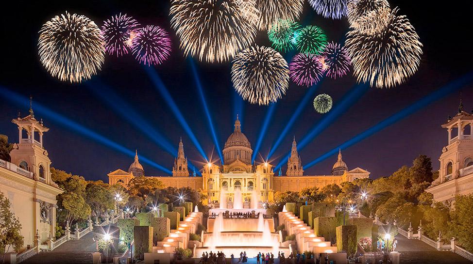 El otoño arranca en Barcelona con las Fiestas de La Mercè, en la que se realizan conciertos y desfiles callejeros por cinco días.