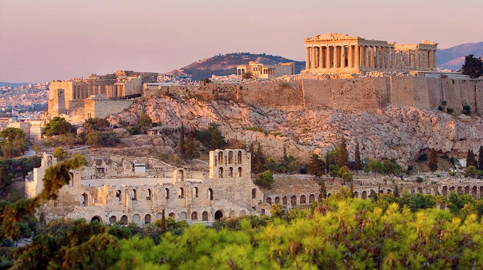 En Grecia, el precio de la entrada al Acrópolis te permite acceder al Ágora Antigua y al Templo de Zeus.