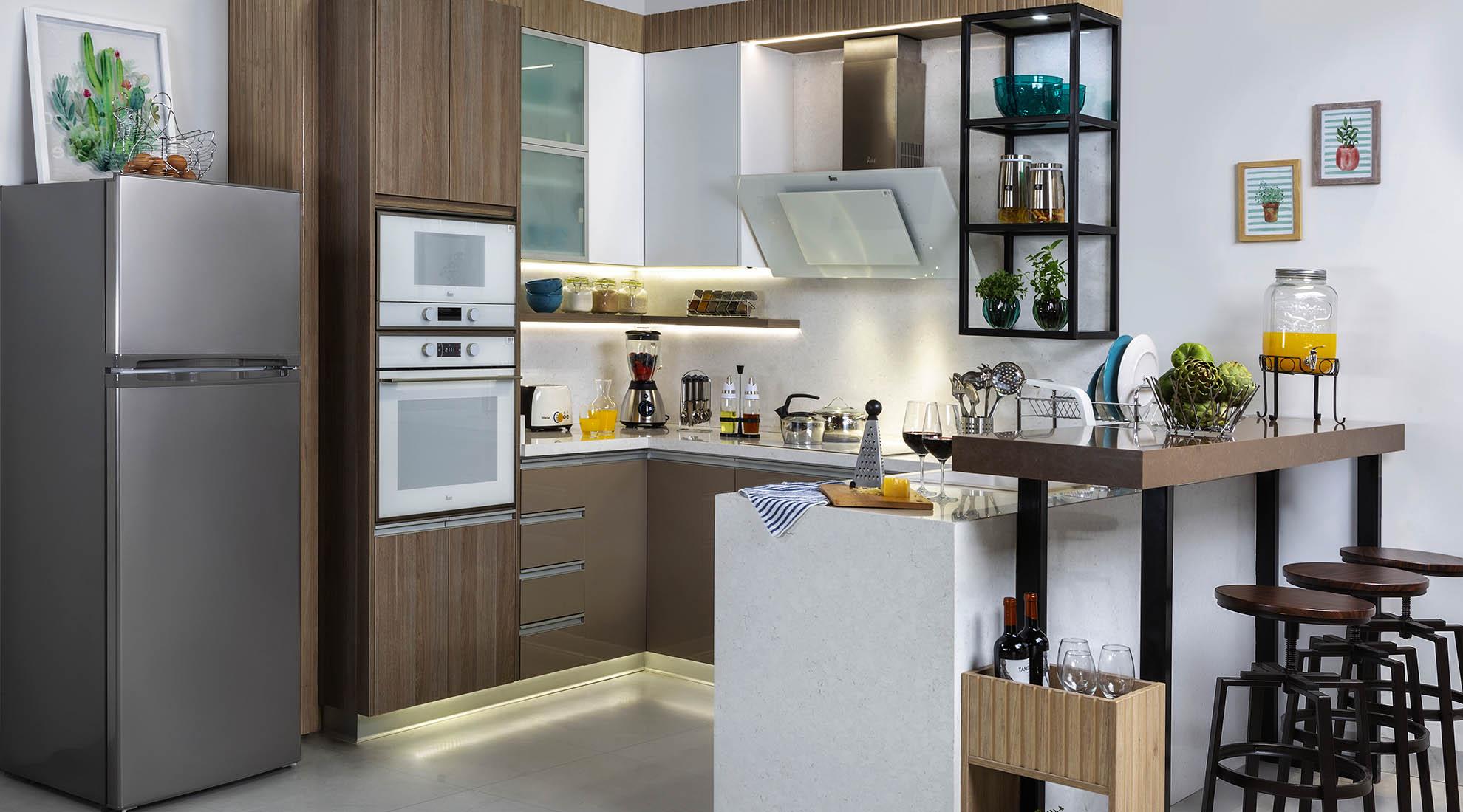 Cocina integrada: las claves para organizar un espacio ideal