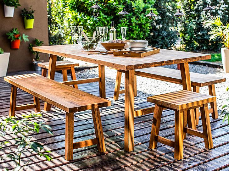 Terrazas Sabes Cuáles Son Los Muebles Perfectos Para Tu