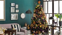 Inspírate con las últimas tendencias en árboles navideños