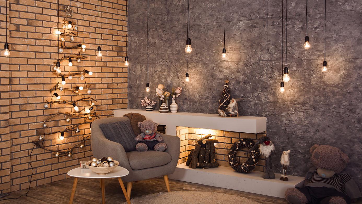 Haz brillar tus ambientes con luces navideñas