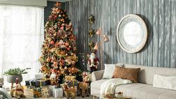 Glamour navideño: dale un toque chic a la decoración de tu casa
