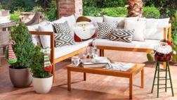 Navidad al aire libre: haz brillar tus ambientes exteriores
