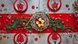 Decora tu mesa navideña con estas ideas inspiradoras