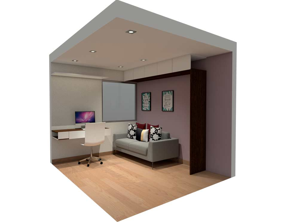 ¿Cómo convertir un cuarto extra en un ambiente multifuncional?