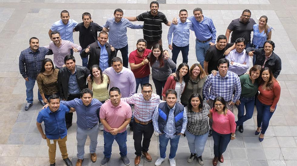 Los valores corporativos de AFP Habitat son ética, trabajo en equipo, actitud de servicio y excelencia en el trabajo.