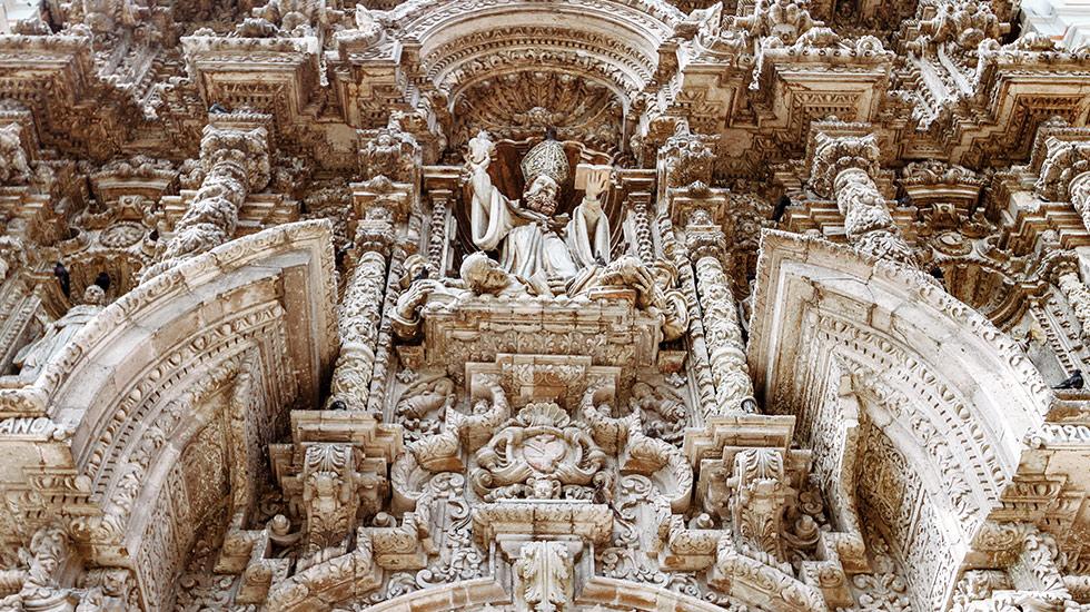 2. Iglesias con historia y arquitectura. Otro atractivo es la Iglesia San Agustín, con un diseño de estilo barroco churrigueresco.