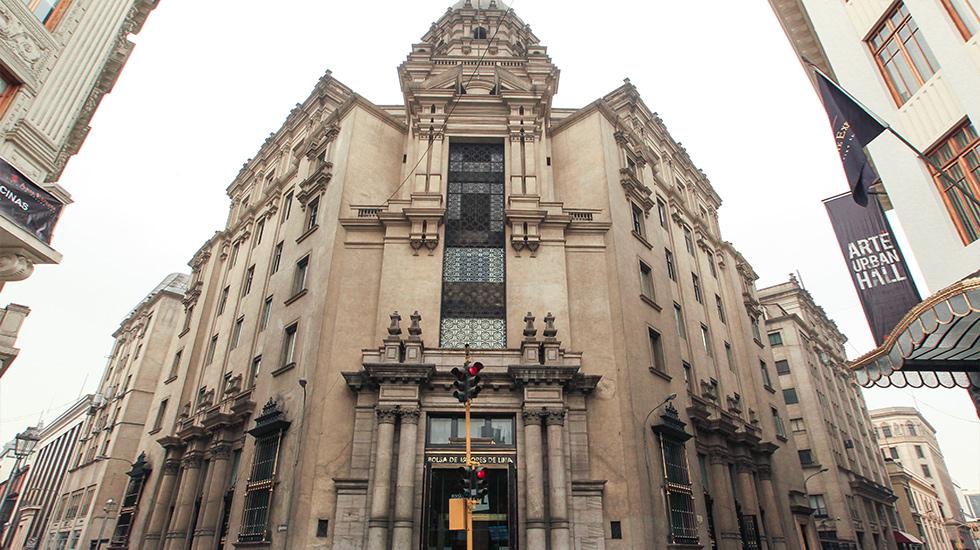 3. El pequeño Manhattan peruano. Entre los jirones Carabaya y Miró Quesada se ubica el intento de crear un centro financiero en la década de los 20 y 30.
