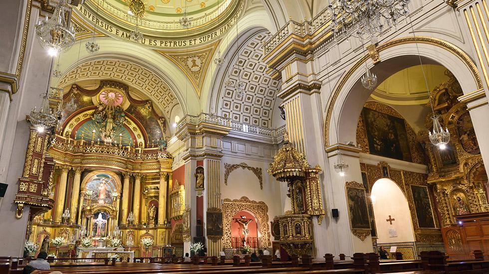 2. Iglesias con historia y arquitectura. La Iglesia San Pedro se encuentra en un perfecto estado de conservación.