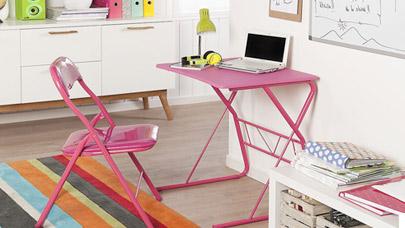 Espacio de estudio: claves para elegir el escritorio perfecto
