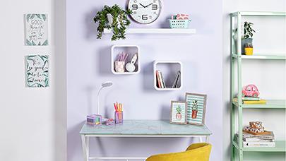 Rincón de estudio: 4 muebles de almacenaje indispensables