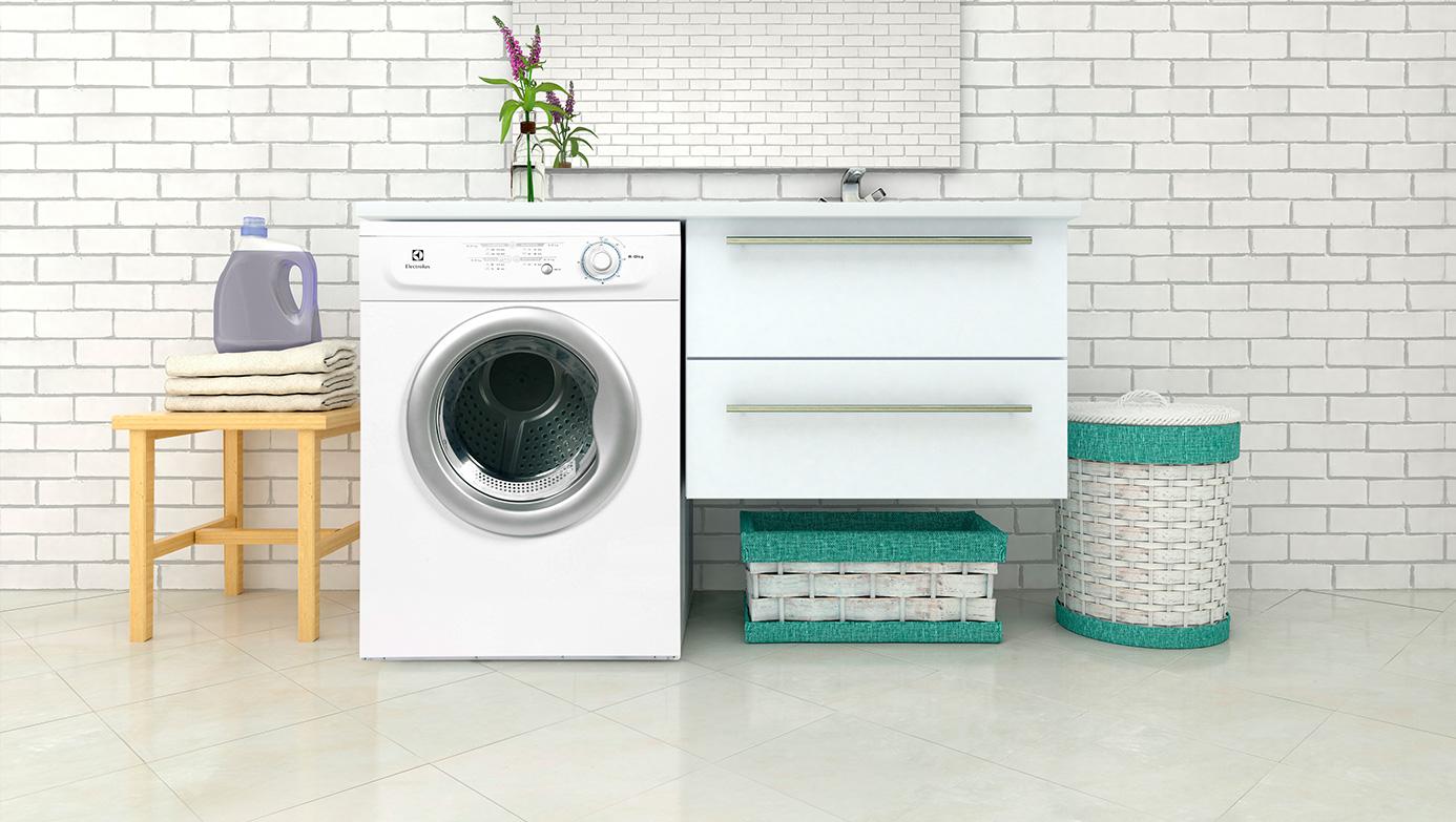 ¿Poco espacio? Claves para una lavandería perfecta en casa