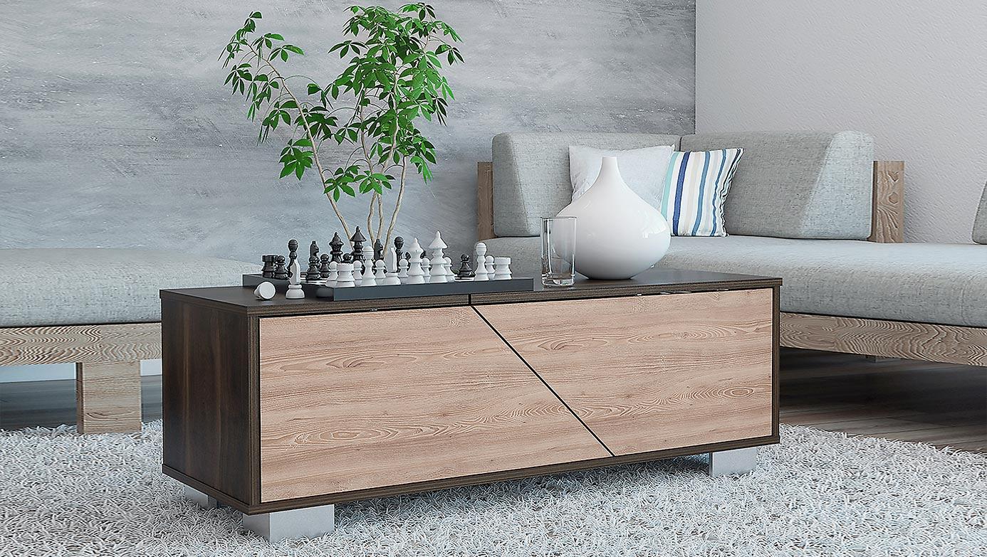 La mesa de centro ideal para la sala - abridora D