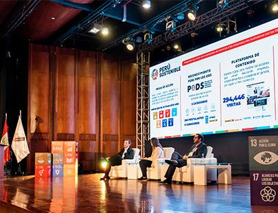 Perú Sostenible reúne a grandes referentes en sostenibilidad