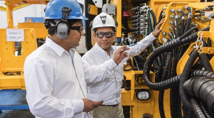 Fabricación de maquinaria minera