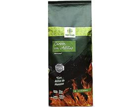 Carbón Vegetal con Astillas de Manzano